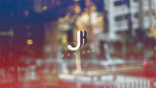 Logo mit Initialen, JH Logo